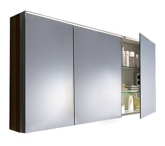 Duravit Fogo 1200mm 3 Door Mirror Cabinet