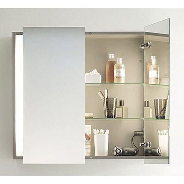 Duravit Ketho 750mm High Double Door Mirror Cabinet