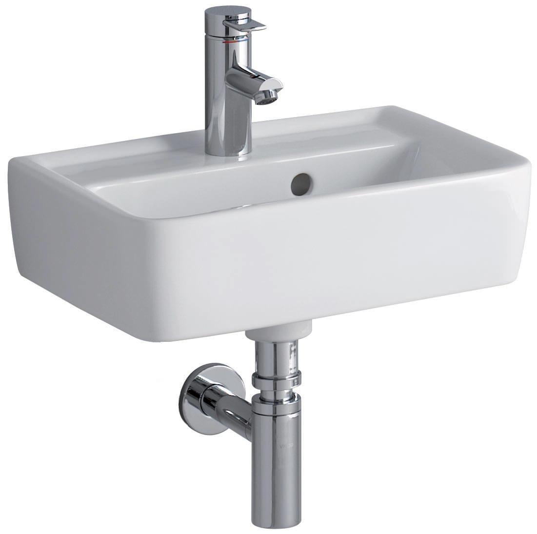 Twyford galerie plan wall fixing washbasin 500 x 380mm - Keramag for you ...