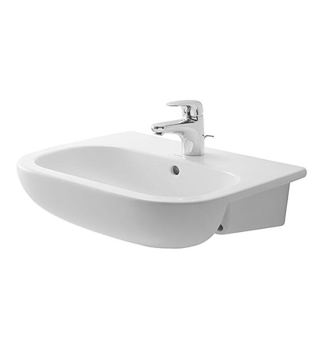 Duravit D Code 550 X 440mm Semi Recessed Basin 0339550000