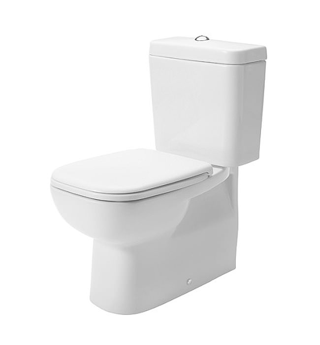 Duravit D Code 355 X 650mm Close Coupled Wc Pan With Cistern