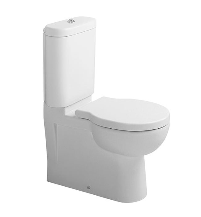 duravit bathroom foster 660mm close coupled toilet. Black Bedroom Furniture Sets. Home Design Ideas