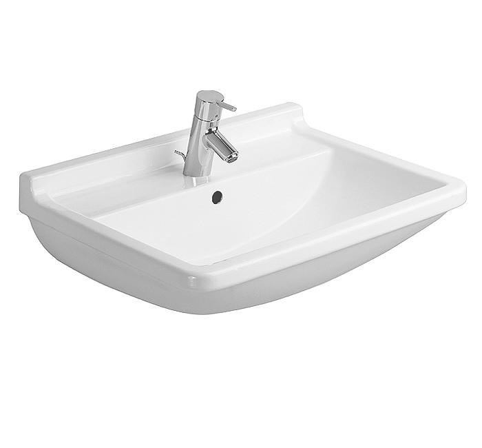 duravit starck 3 washbasin with overflow 600mm - Duravit Sink