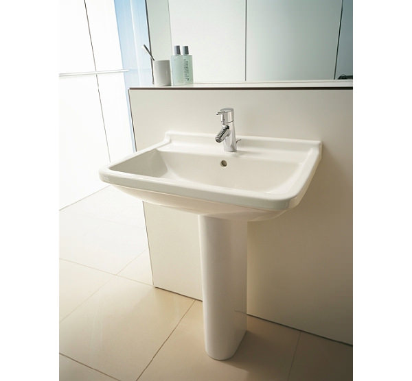 Superior ... Additional Image Of Duravit Starck 3 Washbasin With Overflow 600mm    0300600000