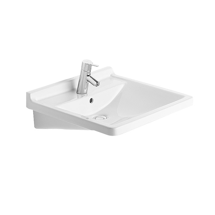Duravit Starck 3 Washbasin With Overflow 600mm   0309600000