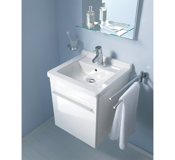Duravit X Large 440mm Left Hand Vanity Unit And 480mm Starck 3 Basin ...