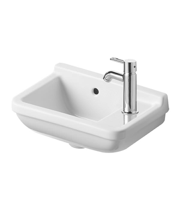duravit starck 3 handrinse basin with overflow 400mm 0751400000. Black Bedroom Furniture Sets. Home Design Ideas