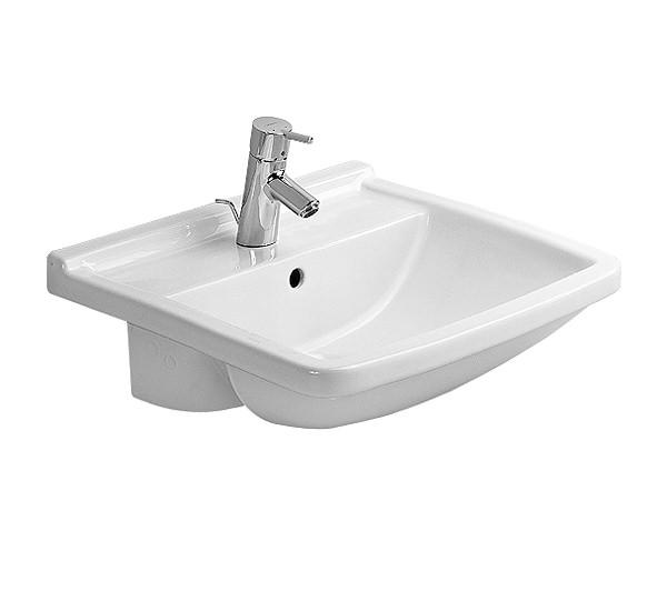 duravit starck 3 semi recessed washbasin 550mm 0310550000. Black Bedroom Furniture Sets. Home Design Ideas