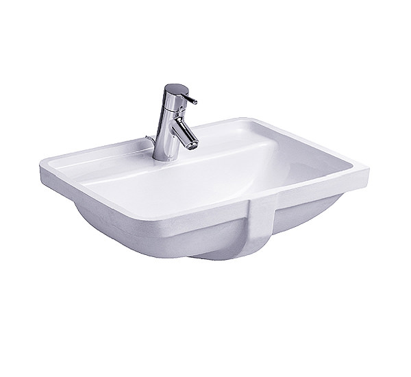 duravit starck 3 vanity under counter basin with overflow 490mm 0302490000. Black Bedroom Furniture Sets. Home Design Ideas