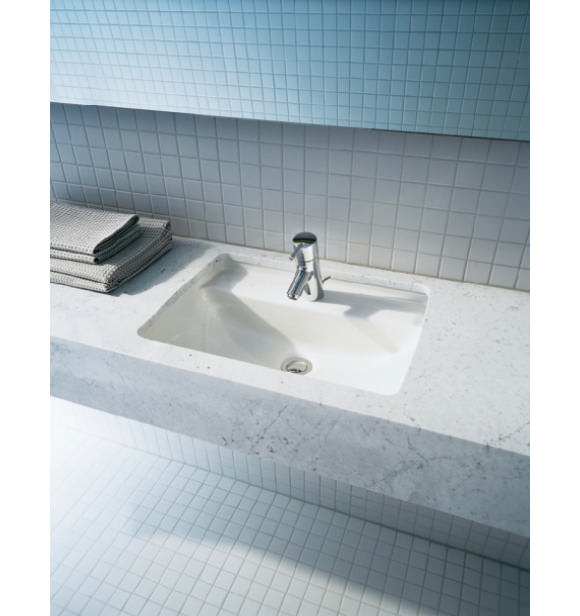 Duravit Starck 3 Vanity Under Counter Basin With Overflow 490mm 0302490000