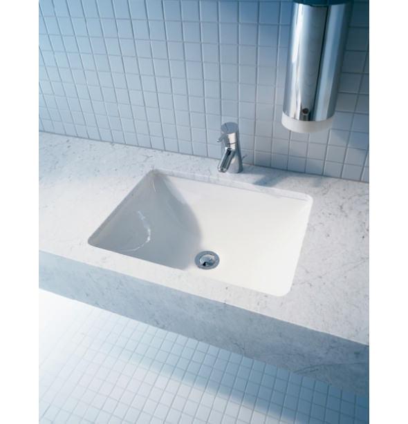 Designed bathrooms - Starck 3 Vanity Undercounter Basin With Overflow 530 X