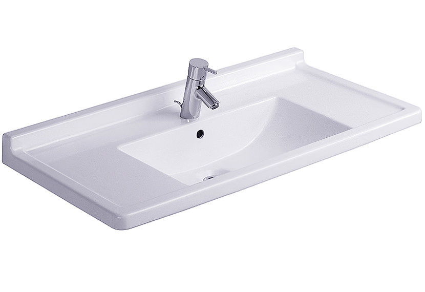 Starck 3 Washbasin With Overflow 850mm - 0304800000