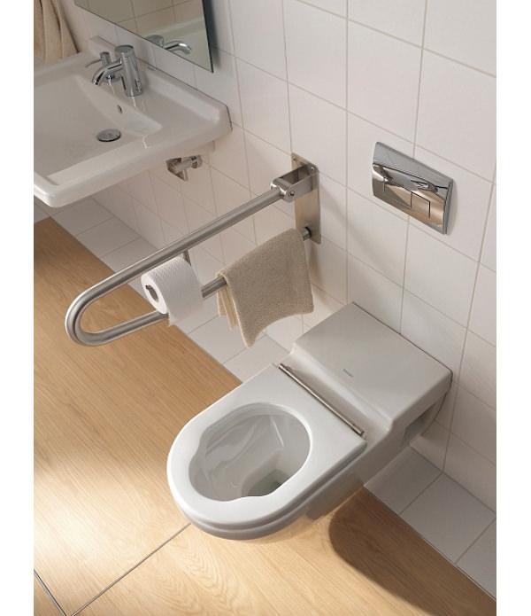 Starck 3 Toilet Wall Mounted