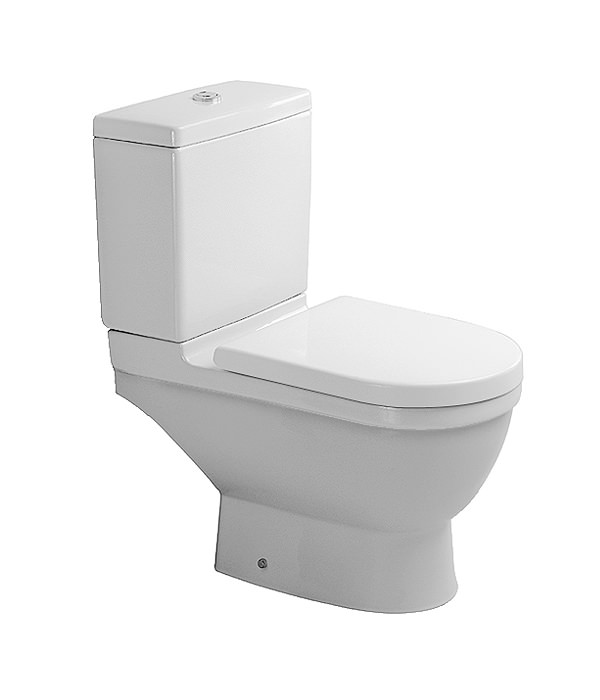 duravit starck 3 close coupled toilet with cistern seat. Black Bedroom Furniture Sets. Home Design Ideas