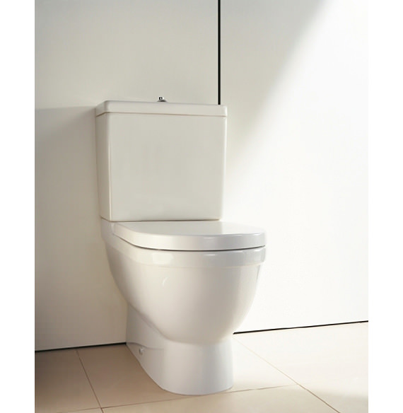 Seriøst Starck 3 Close Coupled Toilet with Cistern Seat and Cover 655mm DQ13