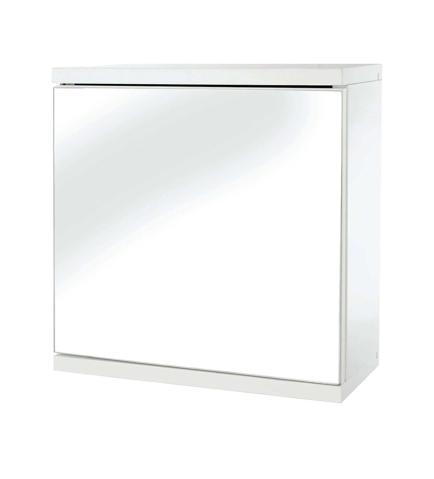 croydex simplicity self assembly one door mirror cabinet