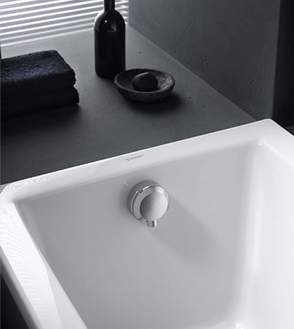 Geberit bath drain with inlet with ready to fit set and Geberit drains