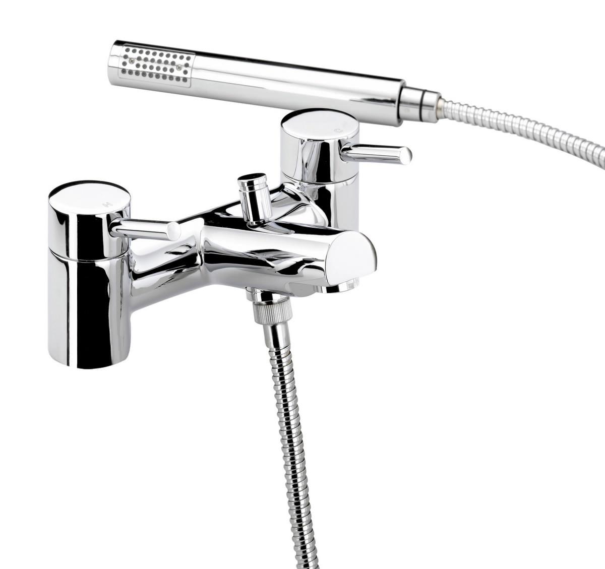 Bristan Prism Chrome Plated Bath Shower Mixer Tap Pm Bsm C