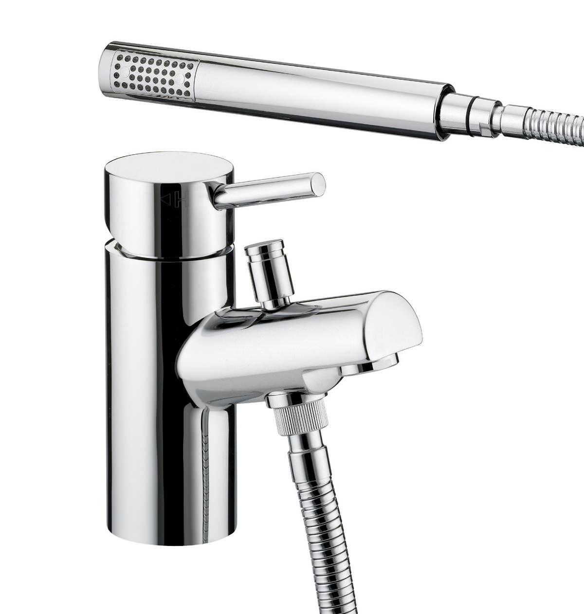 Prism 1 Hole Bath Shower Mixer Chrome Pm 1hbsm C