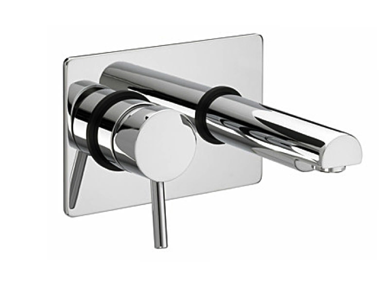Bristan Prism Wall Mounted Bath Filler Tap Chrome Plated