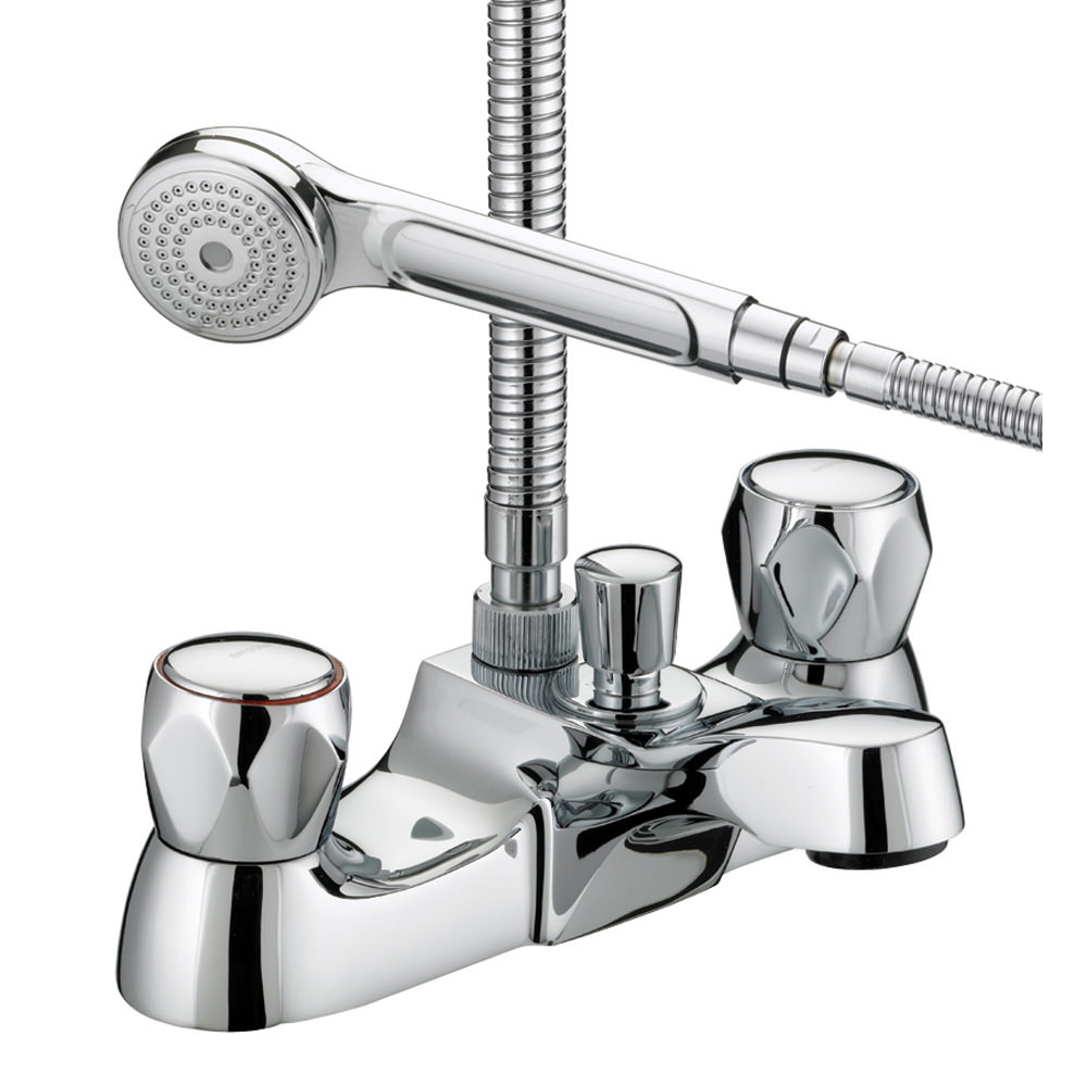 Bristan value club luxury bath shower mixer tap vac lbsm for Bathroom taps