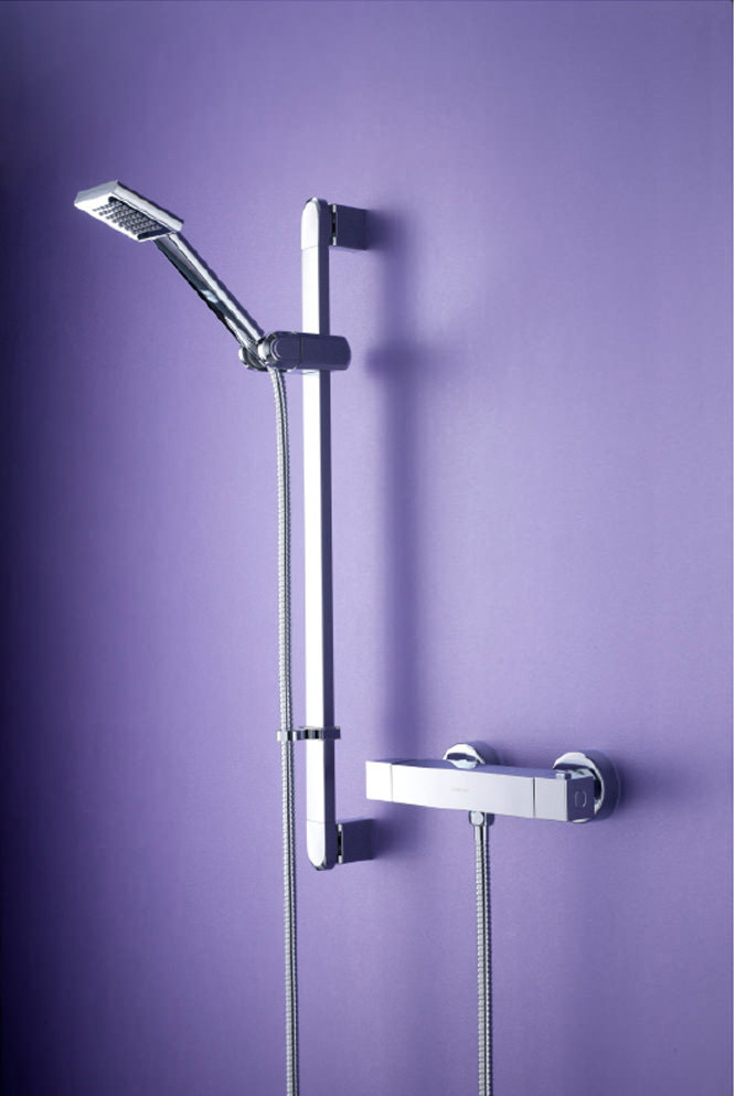Bristan Quadrato Thermostatic Surface Mounted Bar Shower Valve