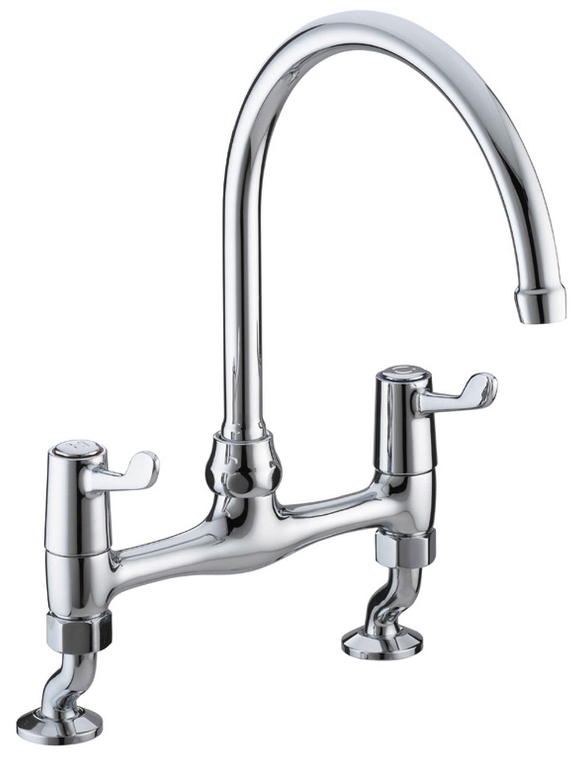 Mixer Taps For Kitchen Sink Bristan value lever bridge deck sink mixer tap val brdsm c cd workwithnaturefo