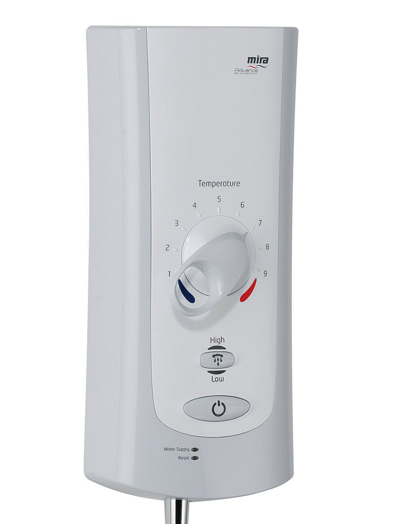 Mira Advance Flex Extra Electric Shower 9 0kw White And Chrome