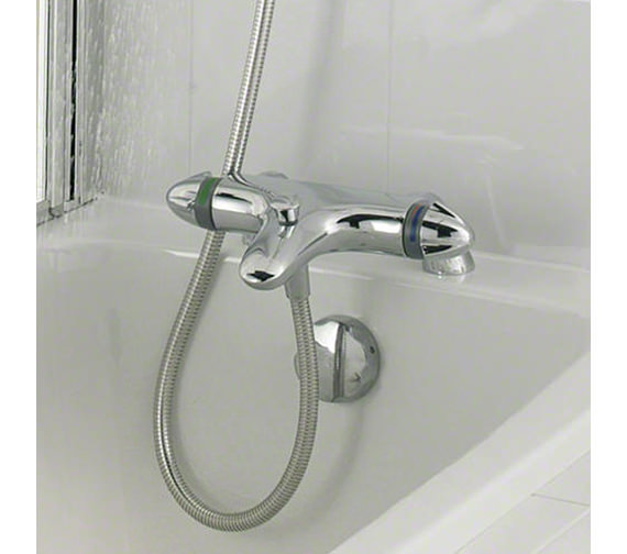 Mira Verve Deck Mounted Bath And Shower Mixer