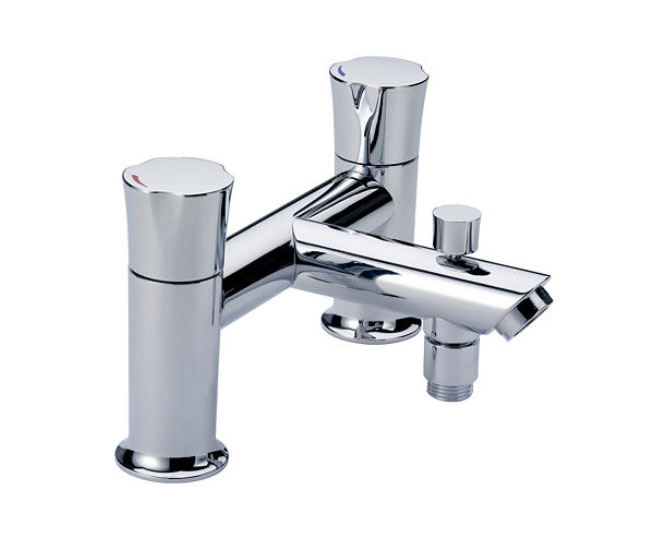 taps premium bath mixers mira discovery deck mounted bath shower mixer