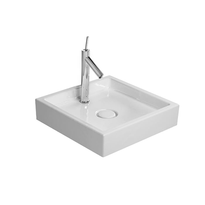 Duravit Starck 1 470 x 470mm Ground Wash Bowl - 0387470027
