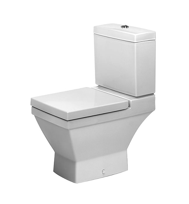 duravit 2nd floor close coupled toilet with horizontal. Black Bedroom Furniture Sets. Home Design Ideas