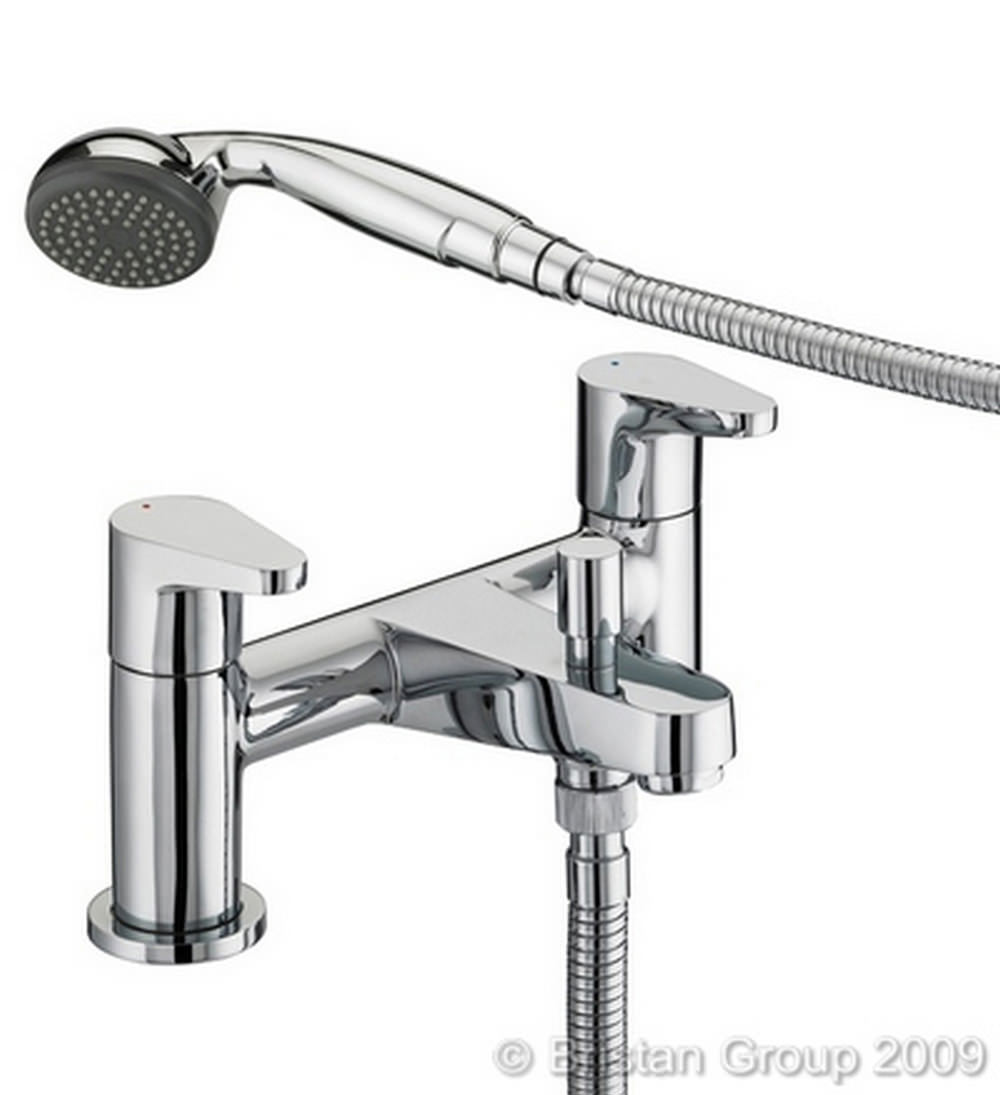 mirrors in bathrooms bristan quest bath shower mixer tap qst bsm c 13706
