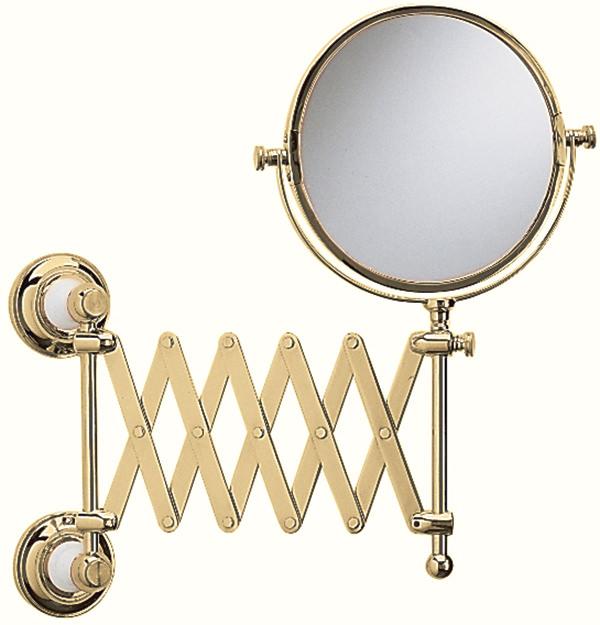 Heritage Clifton Extendable Mirror Chrome Acc16