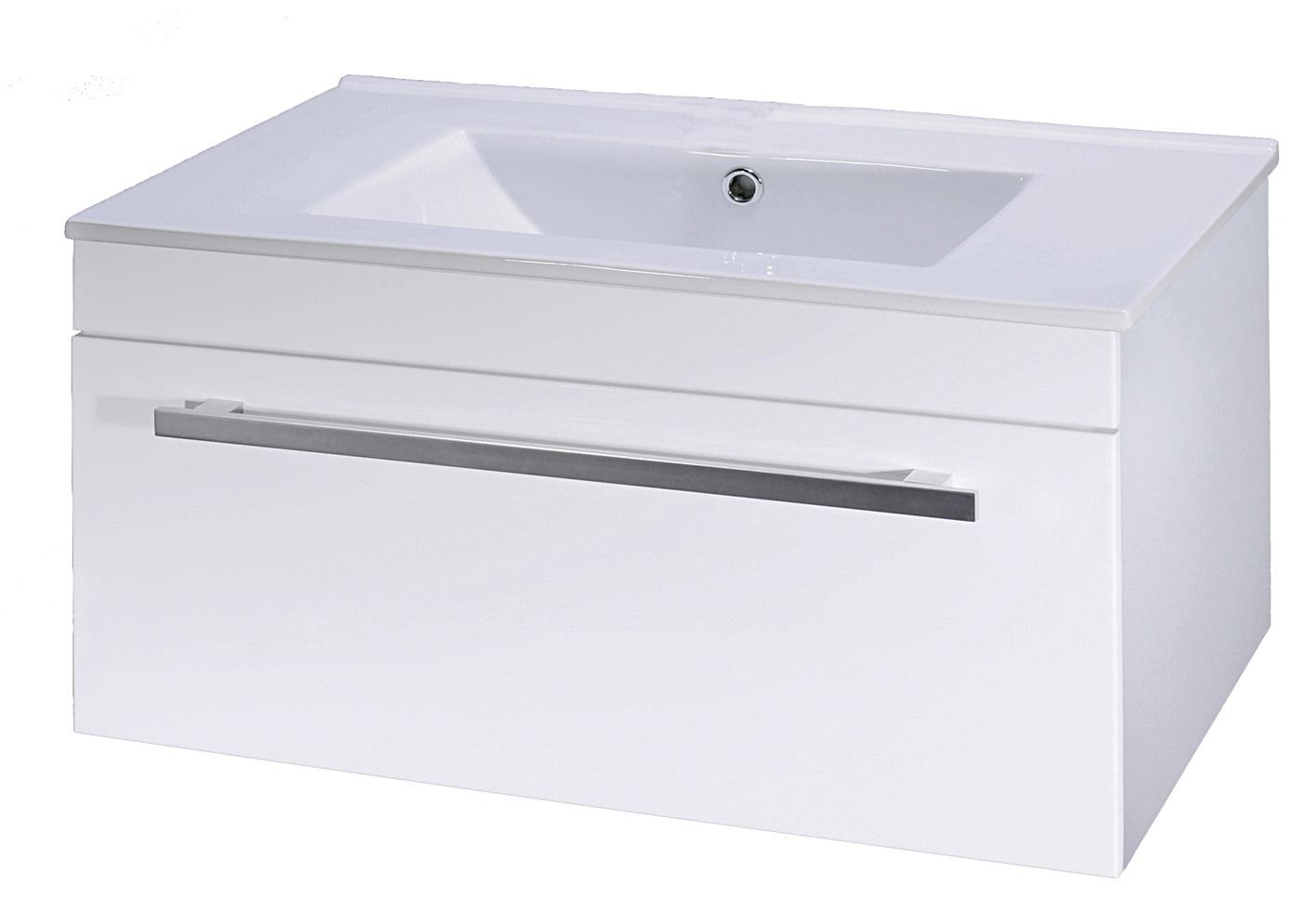 wall hung units lauren eden 600mm gloss white wall hung basin cabinet