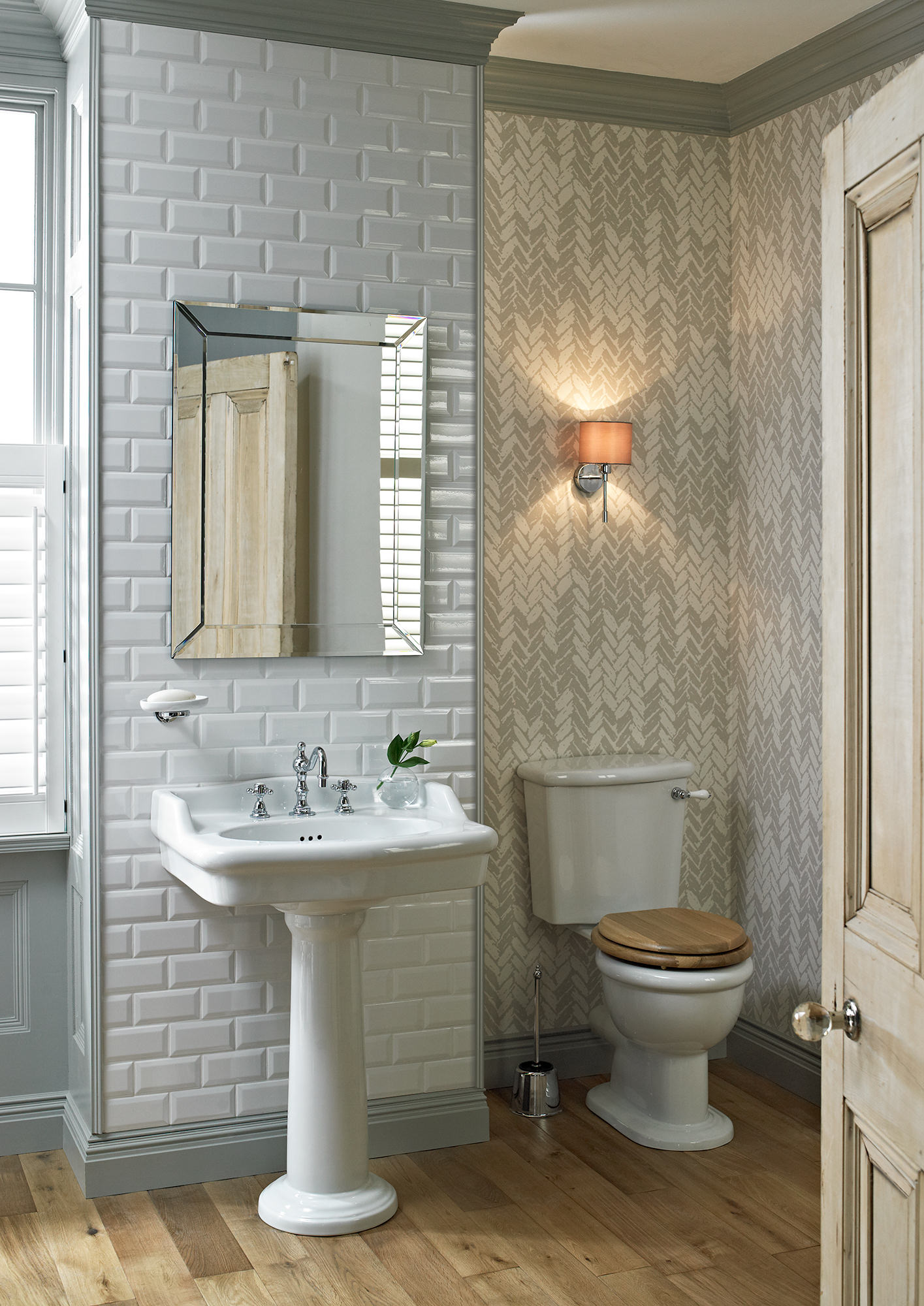 heritage victoria close coupled wc and cistern 710mm