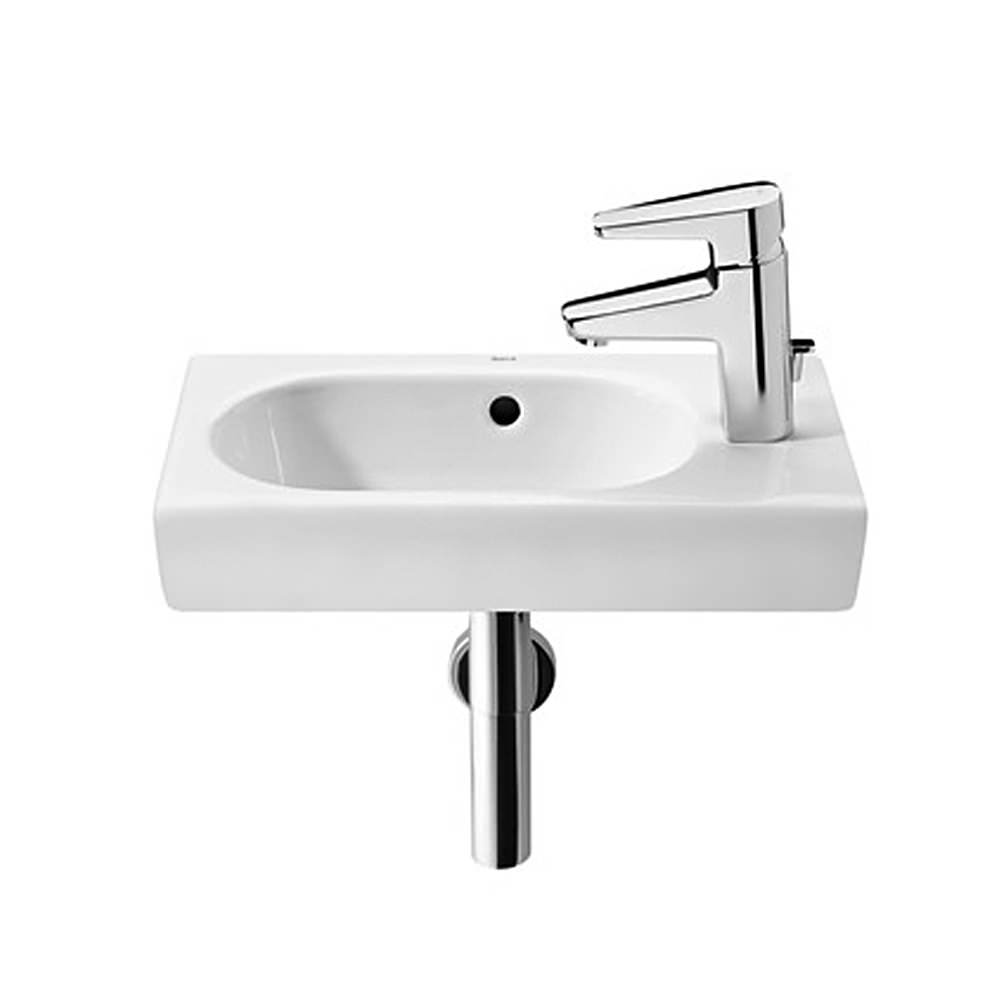 roca bathroom sinks roca meridian n compact cloakroom basin 450 x 250mm 14235