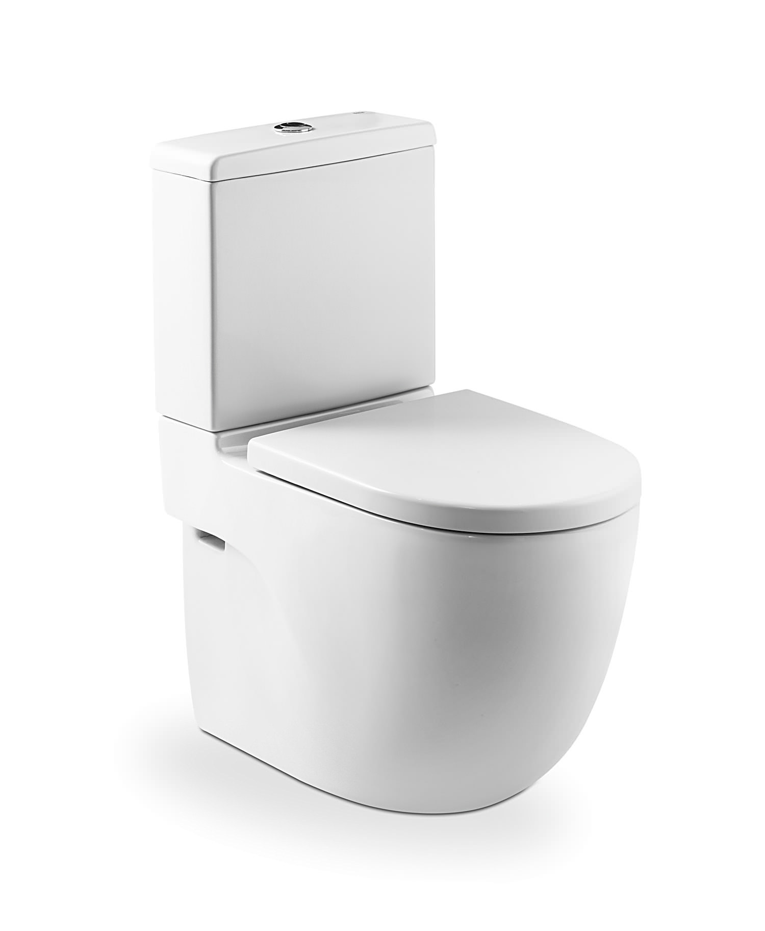 Roca meridian n compact back to wall wc set 600mm 342248000 for Aparatos sanitarios roca