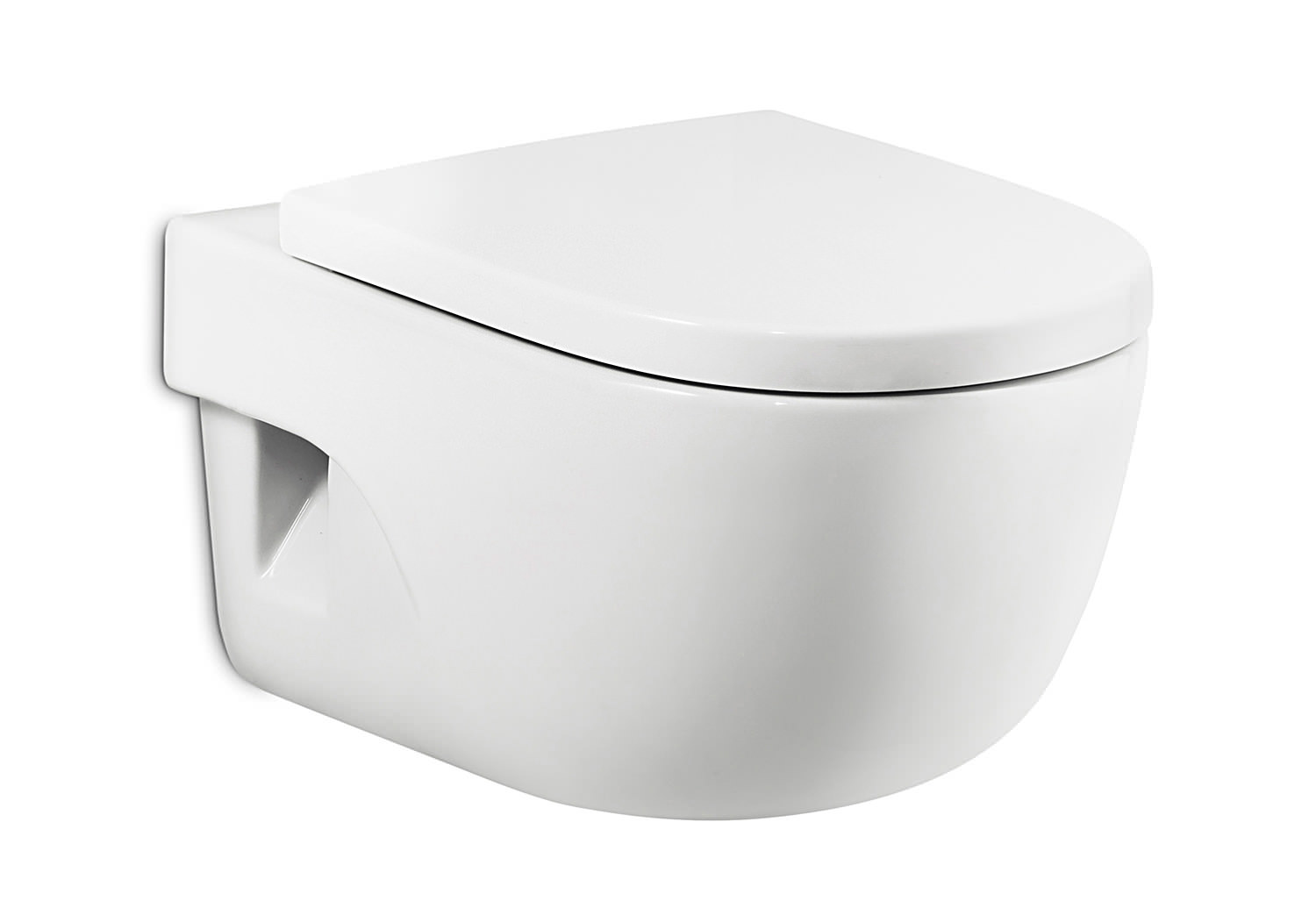 roca meridian n compact wall hung wc set 480mm 346248000