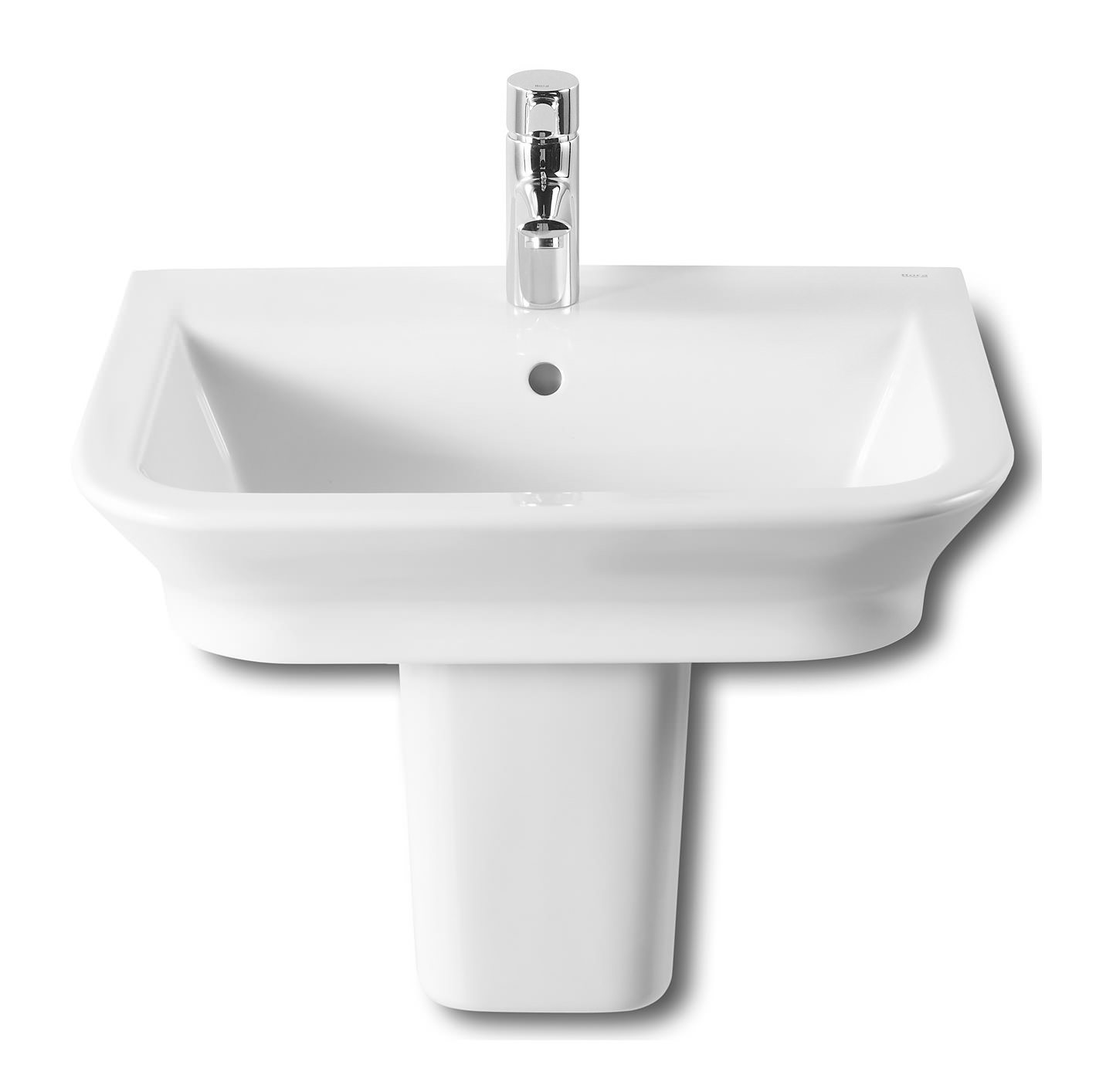 Roca the gap wall hung or countertop basin 550mm wide for Roca the gap