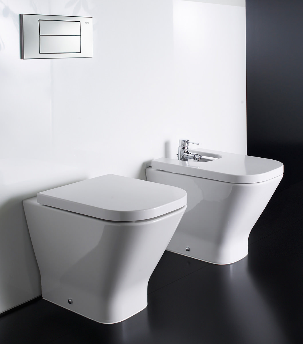Roca the gap back to wall wc pan 540mm 347477000 for Roca the gap