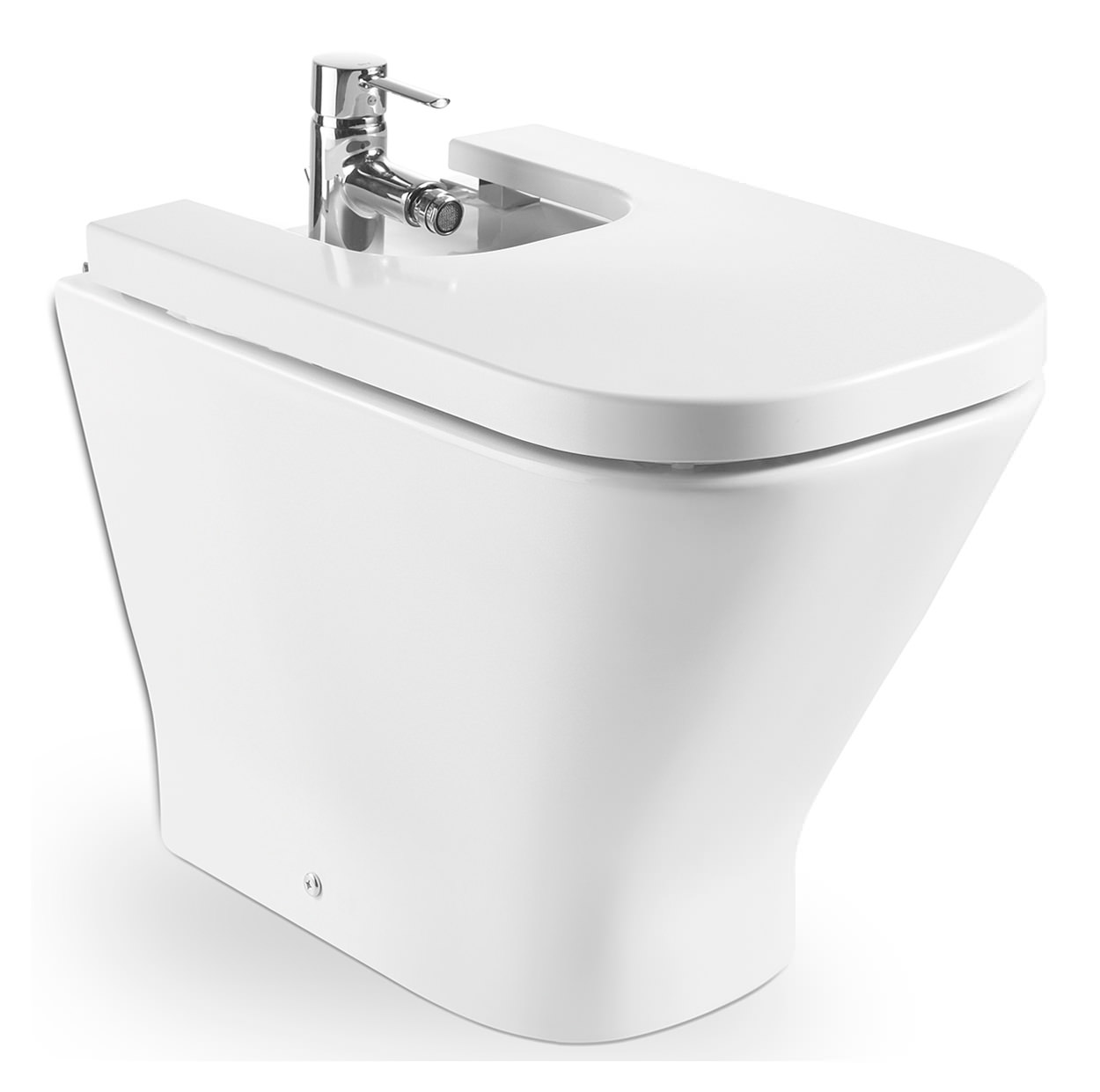 Roca The Gap Moulded Floor Standing Bidet 540mm 357477000