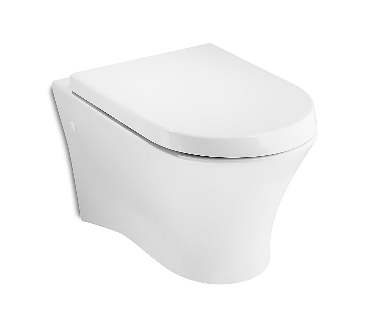 roca nexo white wall hung wc pan 535mm 346640000. Black Bedroom Furniture Sets. Home Design Ideas