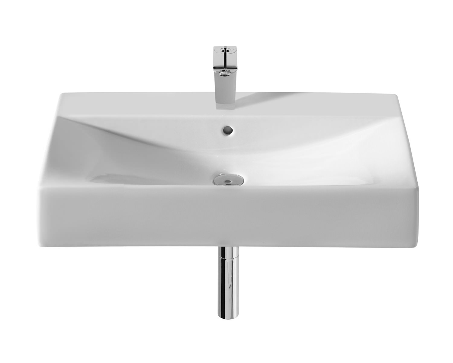 Roca Diverta White Vanity Basin 750mm Wide 327110000