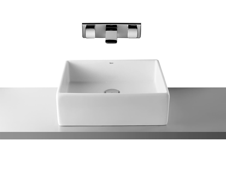 Roca sofia on countertop basin 465mm wide 327720000 - Muebles para lavabos sobre encimera ...
