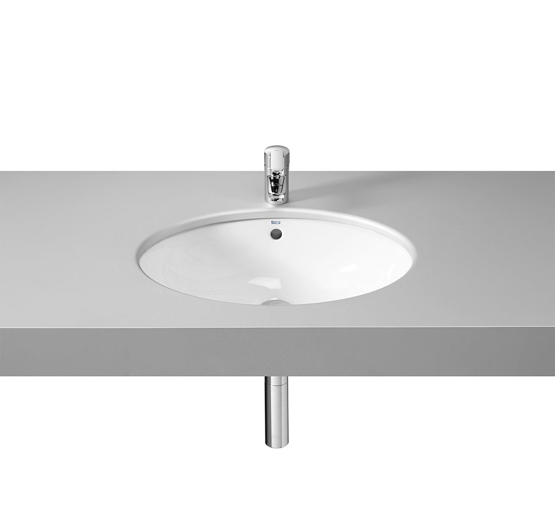 roca neo selene countertop basin 510mm wide 322307000