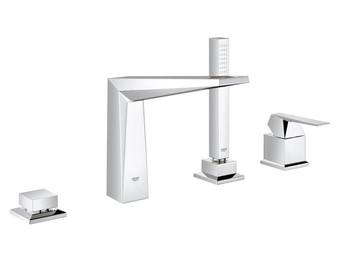 Grohe Spa Allure Brilliant 4 Hole Bath Combination Set