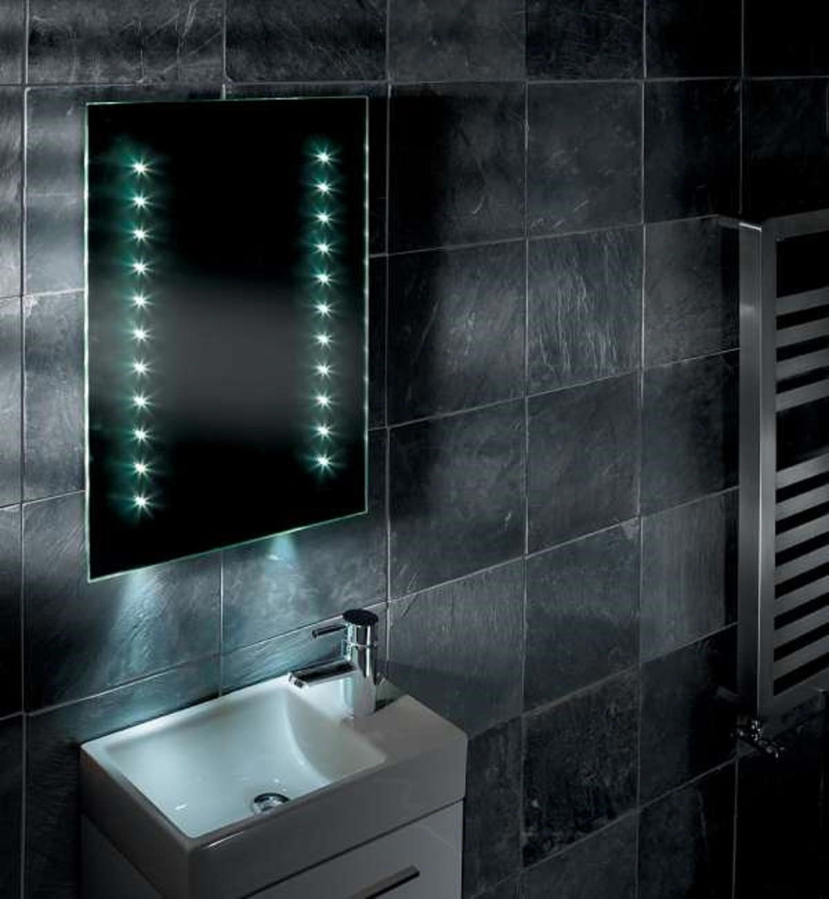 illuminated bathroom mirrors tavistock momentum led illuminated bathroom mirror 450mm x 13216