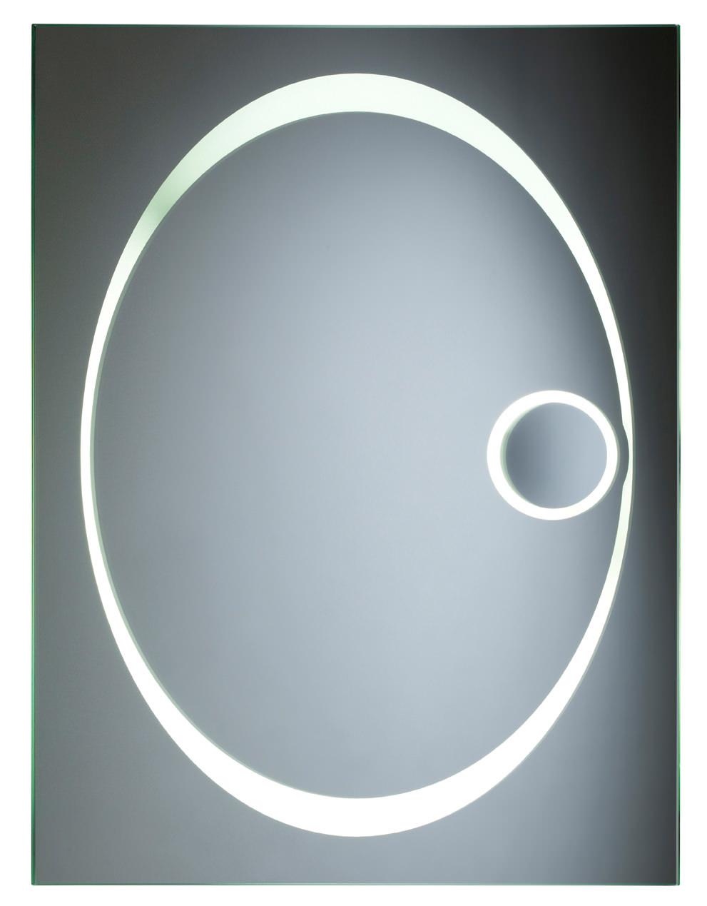 Tavistock Vapour Back Lit Bathroom Mirror 600 X 800mm