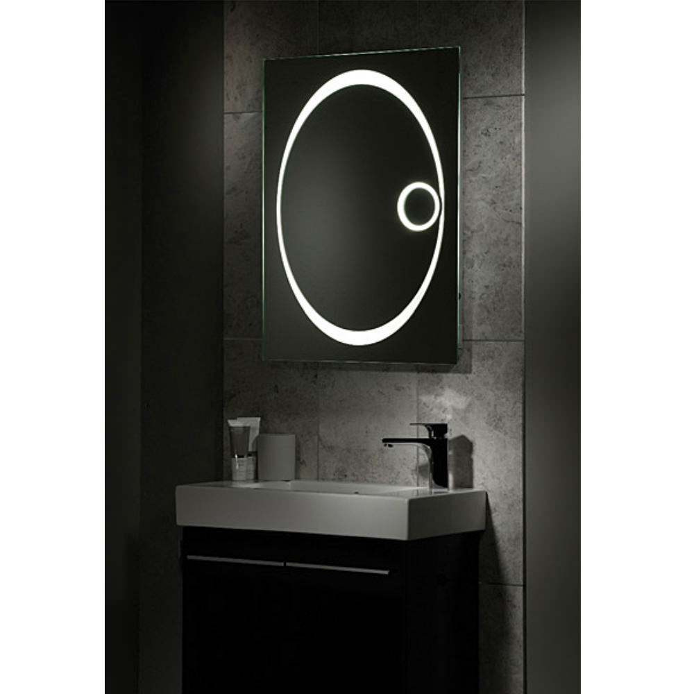 800mm bathroom mirror tavistock vapour back lit bathroom mirror 600mm x 800mm 10052